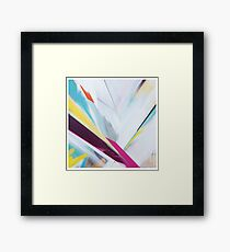 1985 abstract Framed Print