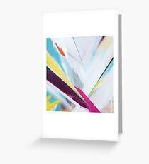 1985 abstract Greeting Card