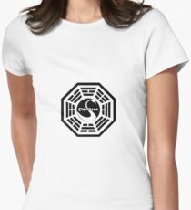 The Dharma Initiative Women's Fitted T-Shirt