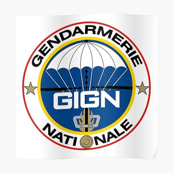 Groupe d'Intervention de la Gendarmerie Nationale (GIGN) Poster
