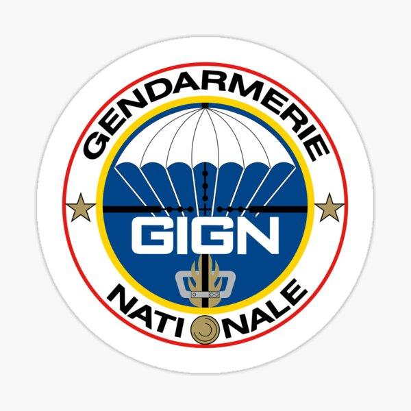 Groupe d'Intervention de la Gendarmerie Nationale (GIGN) Sticker