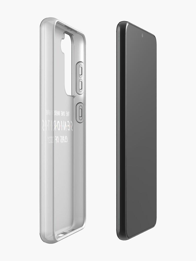 Alternate view of Senioritis Class of 2021 Case & Skin for Samsung Galaxy