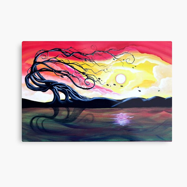 Letting Go by Angieclementine Metal Print