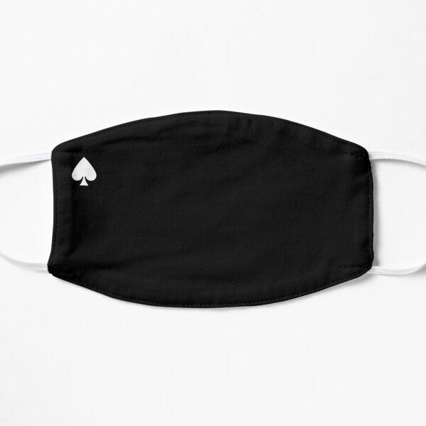 White Spade Flat Mask