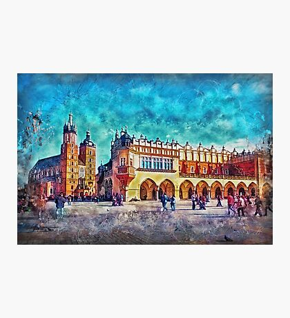 Cracow Main Square Photographic Print