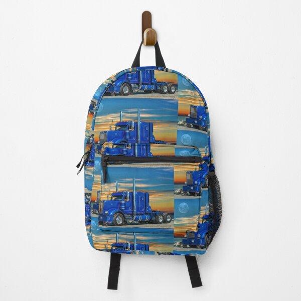 Blue Peterbilt Backpack