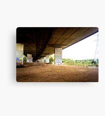 Motorway Underpass  Canvas Print