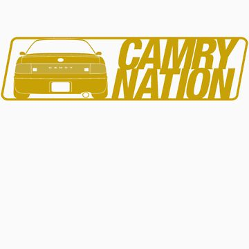 Camry Nation - Gen 3 Gold Alternate by JBezugly