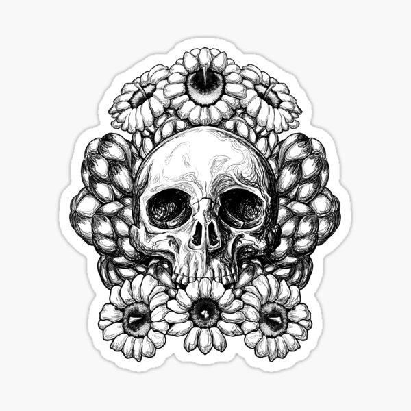 Saguaro Skull Sticker