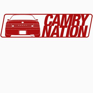 Camry Nation - Gen 3 Red Alternate by JBezugly