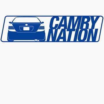 Camry Nation - Gen 5 Blue Alternate by JBezugly