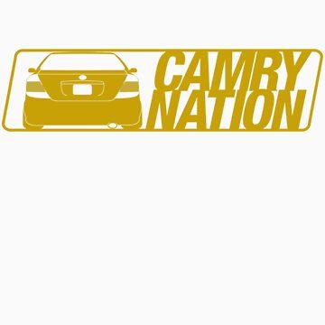 Camry Nation - Gen 5 Gold Alternate by JBezugly