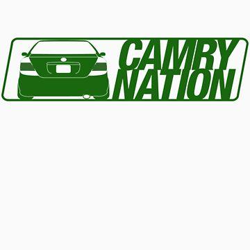 Camry Nation - Gen 5 Green Alternate by JBezugly