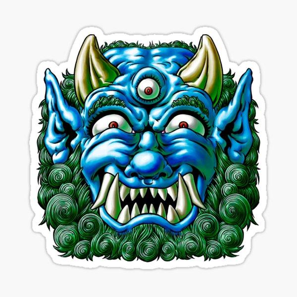Blue Oni Sticker