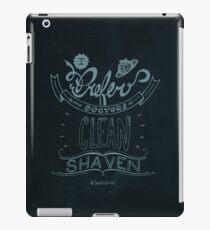 I prefer my doctors clean shaven. iPad Case/Skin