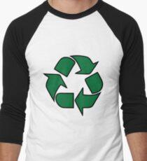 recyceln leonard tbbt Baseballshirt mit 3/4-Arm