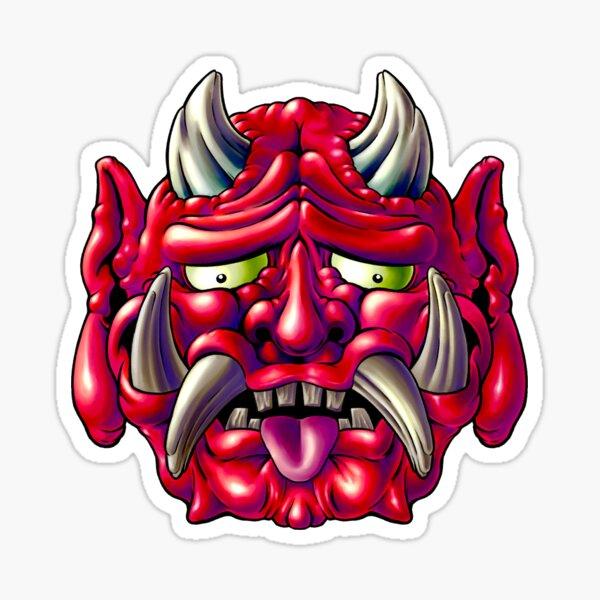 Red Oni Sticker