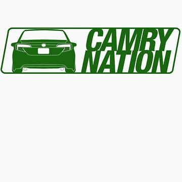 Camry Nation - Gen 7 Green Alternate by JBezugly