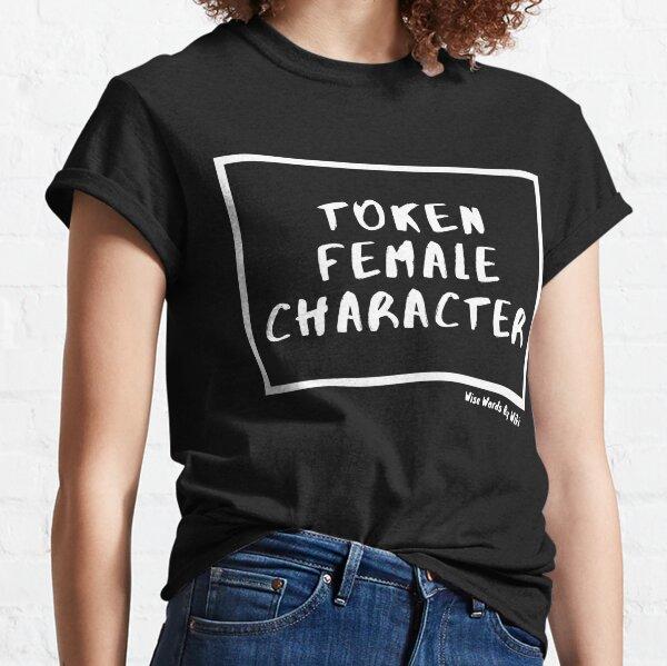 Token Female Character  Classic T-Shirt