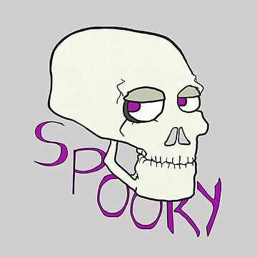 Spooky Skull by mytentacle