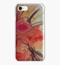 Abstract floral 2 iPhone Case/Skin