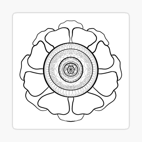 Floramandala Sticker