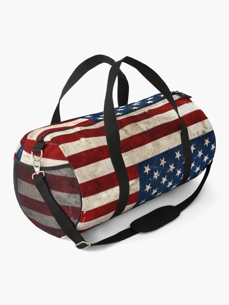 Alternate view of USA flag Duffle Bag