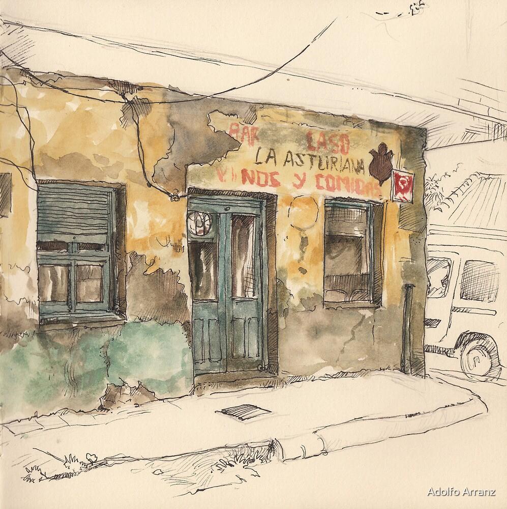 Bar La Asturiana by Adolfo Arranz