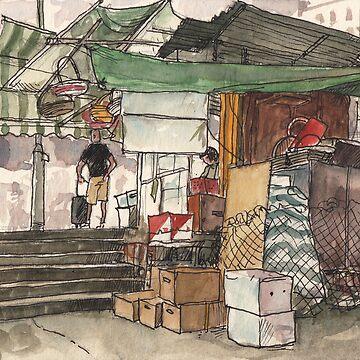 Swatow street, Wan Chai by adolfux