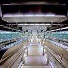 Airport Passageway by Bill Wetmore