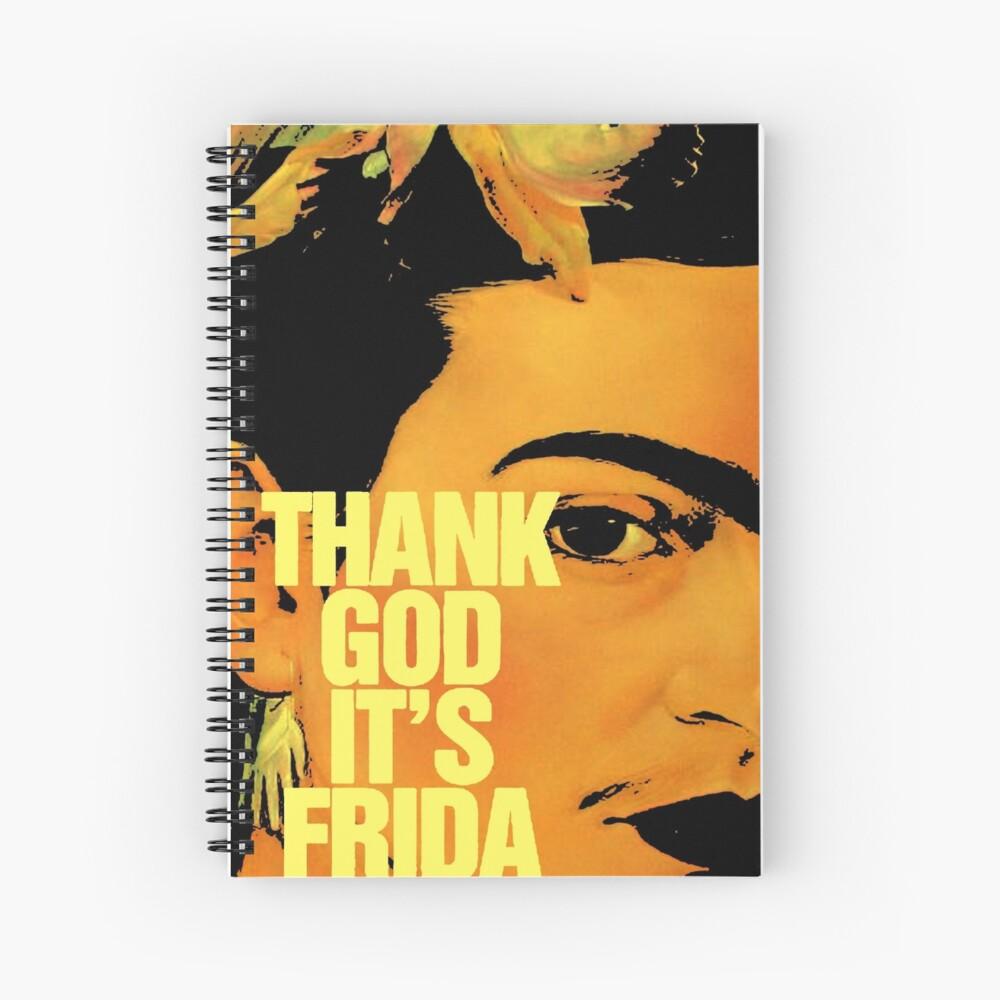 Danke Gott, es ist Frida Spiralblock