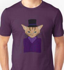 Magician Cat Slim Fit T-Shirt