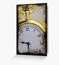 Timepiece Greeting Card