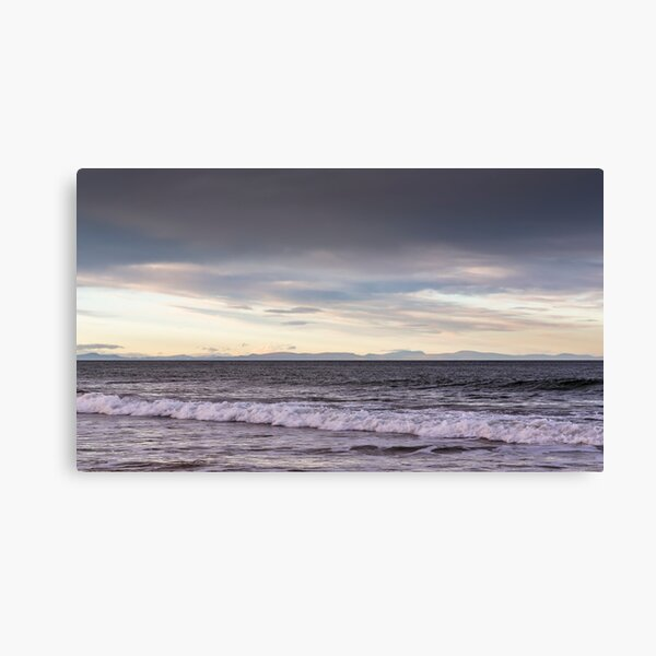 Lossiemouth view of Caithness and Sutherland Canvas Print