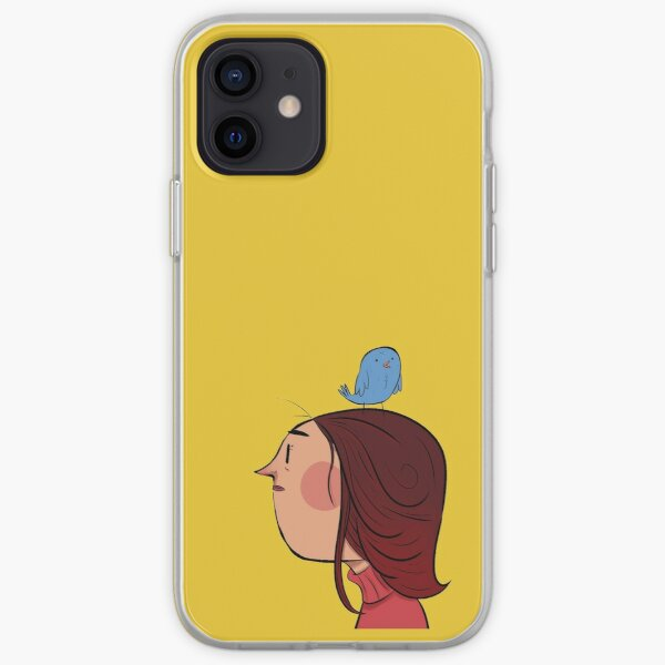 Bird lady iPhone Soft Case