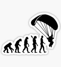 Pegatina Evolution Skydiving Salto en paracaídas