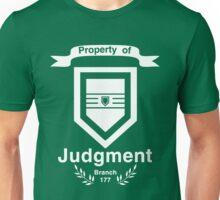 Property of Judgment Unisex T-Shirt