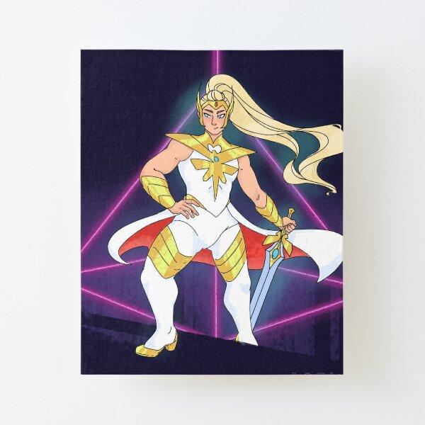 Buff Shera Canvas Mounted Print