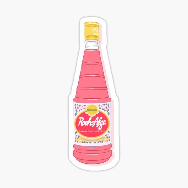 Rooh Afza Bottle Sticker