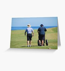 Cape Breton Golfers Greeting Card