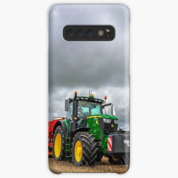 John Deere with Vaderstad Drill Samsung Galaxy Snap Case