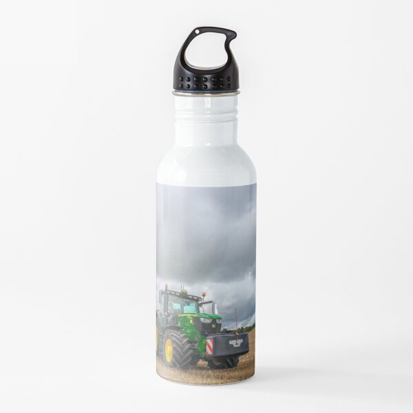 John Deere with Vaderstad Drill Water Bottle