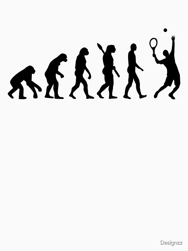 Evolution Tennis player  | Unisex T-Shirt