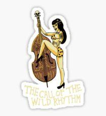 Call of the wild rhythm Sticker
