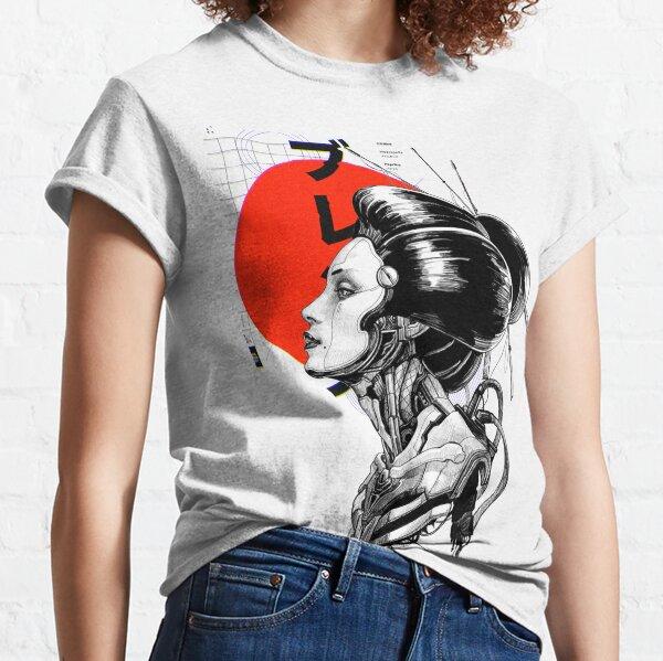 Cyberpunk Vaporwave Japanese Classic T-Shirt