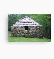 Stone Hut on Cape Breton Island Canvas Print