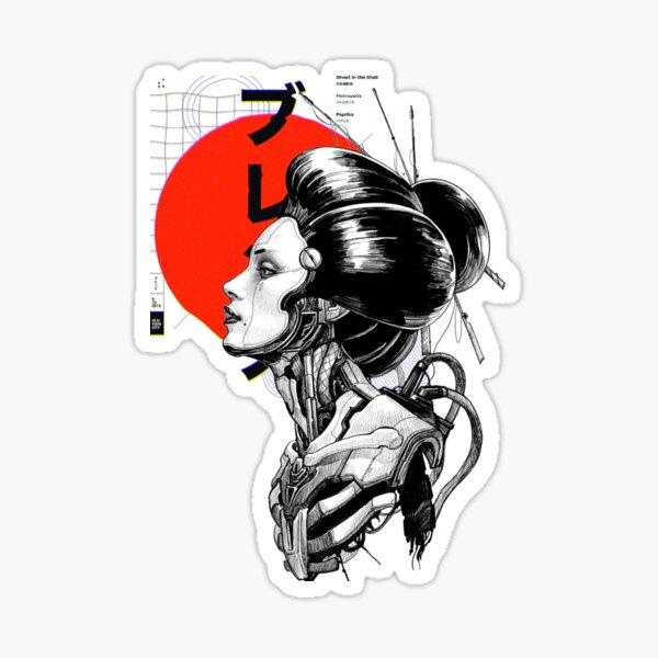 Cyberpunk Vaporwave Japanese Sticker