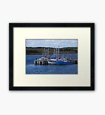 Cape Breton Fishing Vessels Framed Print