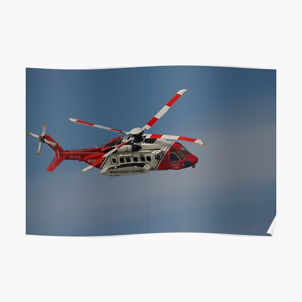 Sikorsky S-92 - Rescue 118 Poster