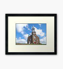 Church Near Cheticamp Framed Print